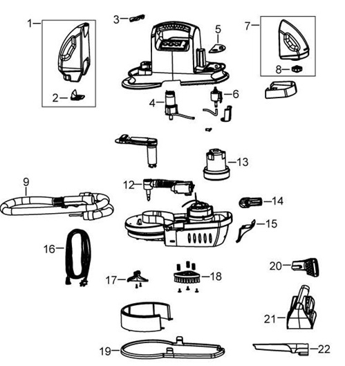 vax rapide instructions for use