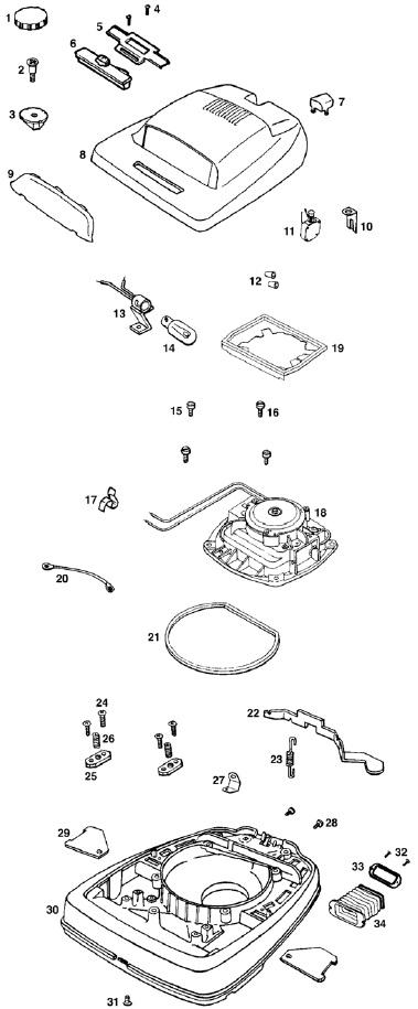 eureka upright vacuum parts vacuums24x7 tattoo design bild. Black Bedroom Furniture Sets. Home Design Ideas