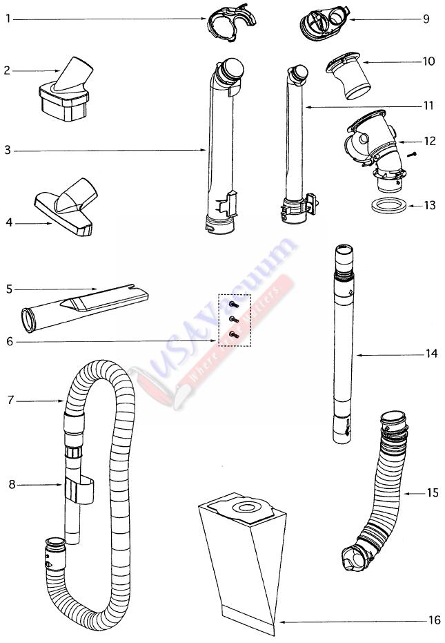 smart grid diagram cat 5 wiring eureka 4870 - ultra smart vac upright