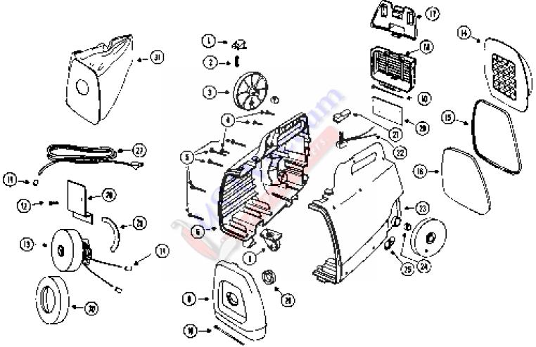 3112 Mighty Mite Parts List  U0026 Schematic