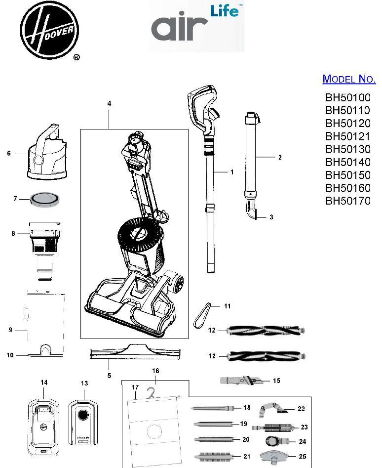 shark navigator vacuum parts diagram