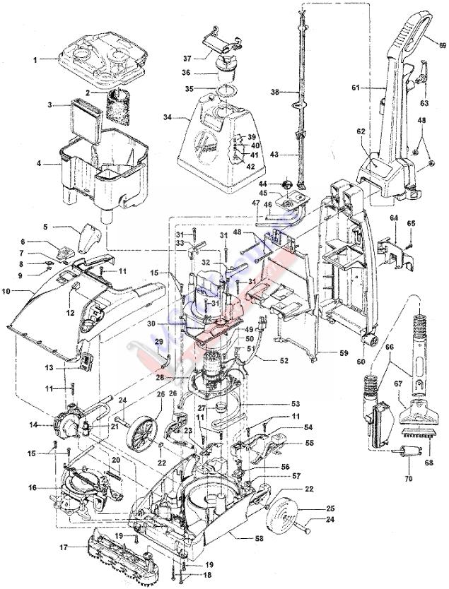 vacuum parts  hoover vacuum parts in qatar