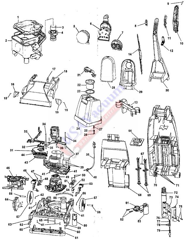 Hoover C Vac Wiring Diagram on