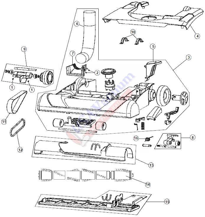 48 v 6 vacuum hose diagram