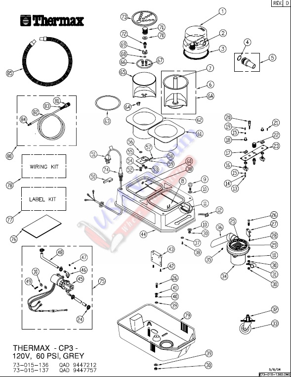 cp3 1 thermax cp 3 hot water extraction system usa vacuum thermax dv 12 wiring diagram at mifinder.co