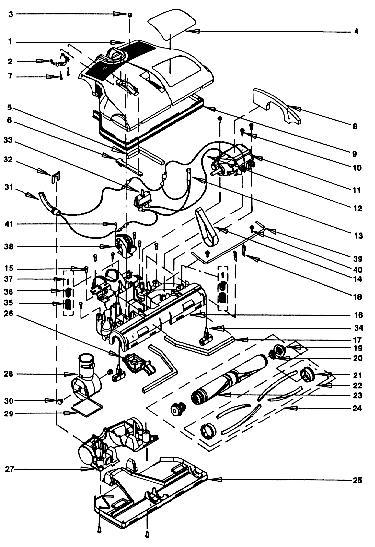 Rainbow Pn 2 Pn 3 Power Nozzle Assembly