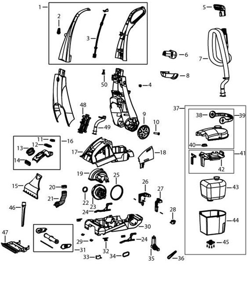 Shark Navigator Replacement Belt in addition 641 further Bissell Parts Diagram further Bissell Proheat 2x Wiring Diagram also Powerlifter Bissell Proheat Manual. on bissell proheat 2x parts diagram