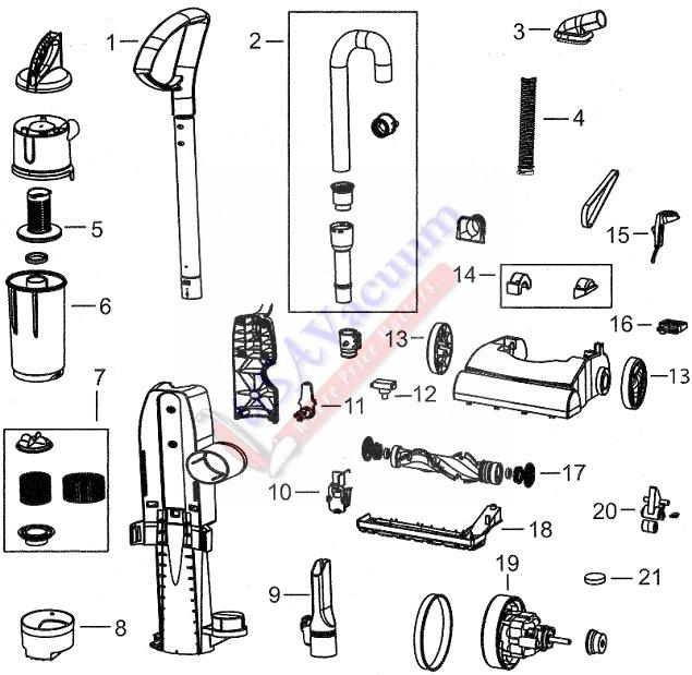 pro force generator parts diagram