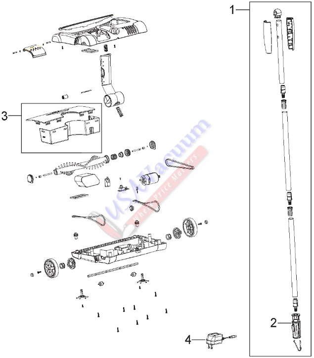 bissell 2800 2880 perfect sweep turbo parts usa vacuumbissell 2800 2880 perfect sweep turbo parts list \u0026 schematic