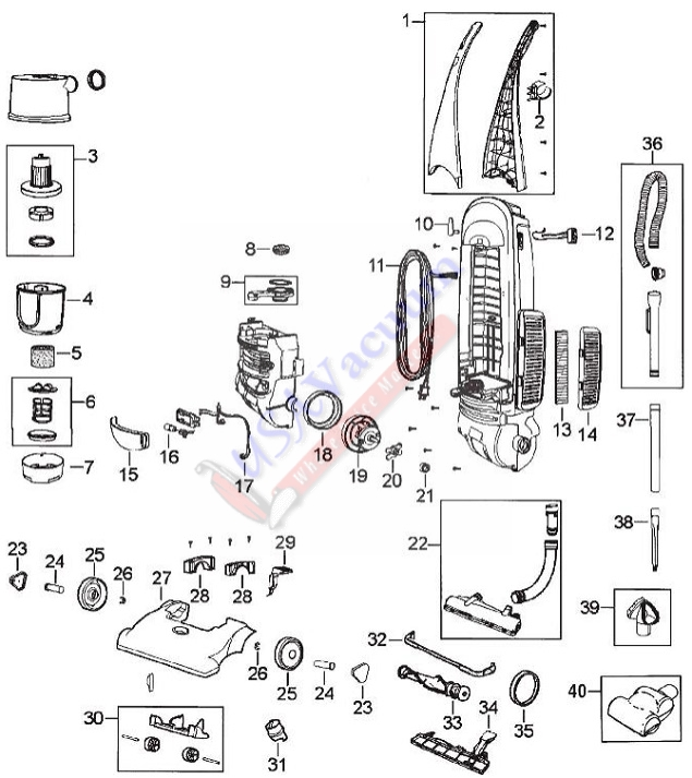 kenmore vacuum wiring diagram filter queen vacuum wiring