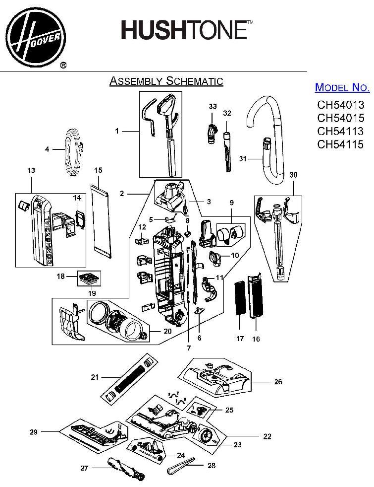 87 Hoover Vaccum Parts