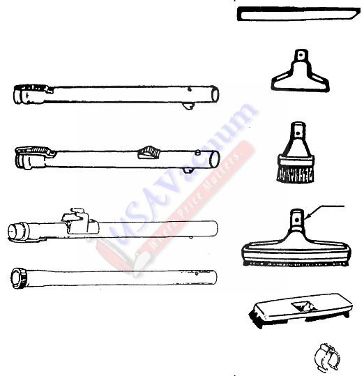 hoover s3661 windtunnel ultra canister parts