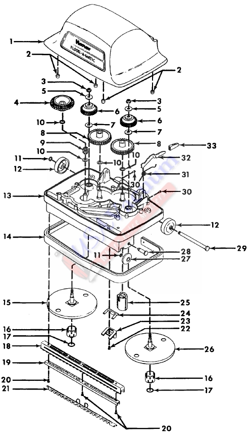 Floor Machine Parts : Floor machine parts list gurus