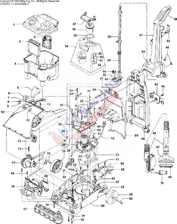 parts hoover steamvac parts hoover f5909 rh usavacuum com Hoover SteamVac SpinScrub Manual Online Hoover F7431-900 SteamVac SpinScrub Manual
