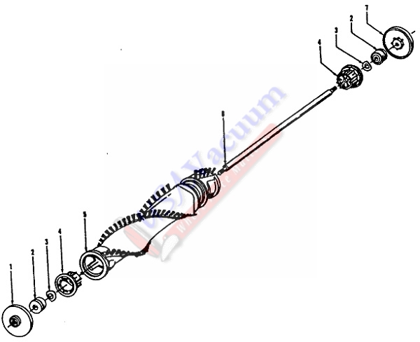 hoover dimension u series upright vacuum cleaner parts