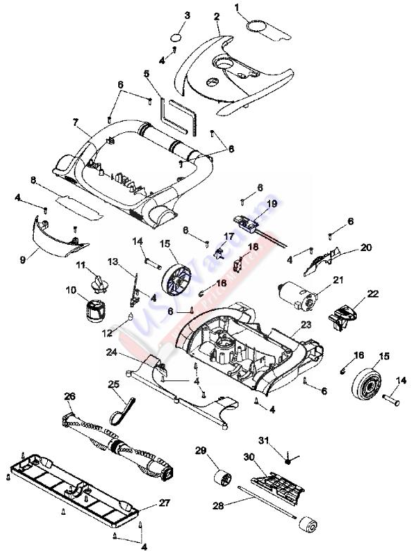 Diagram Parts List For Model U5063930 Hooverparts Vacuumparts