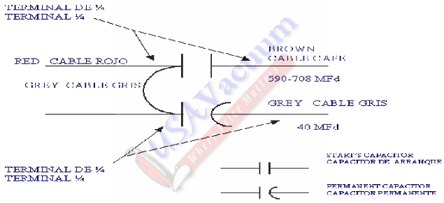 Koblenz RM-1715 Commercial / Industrial Floor Machine Wiring Schematic