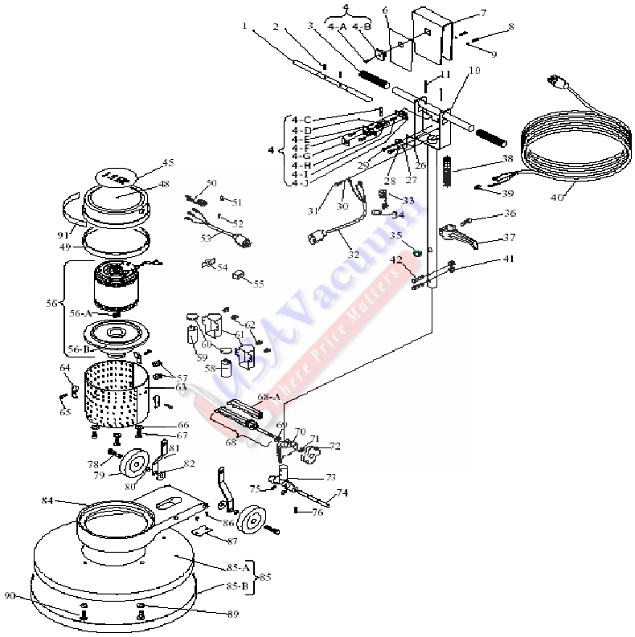 commercial kitchen equipment diagram