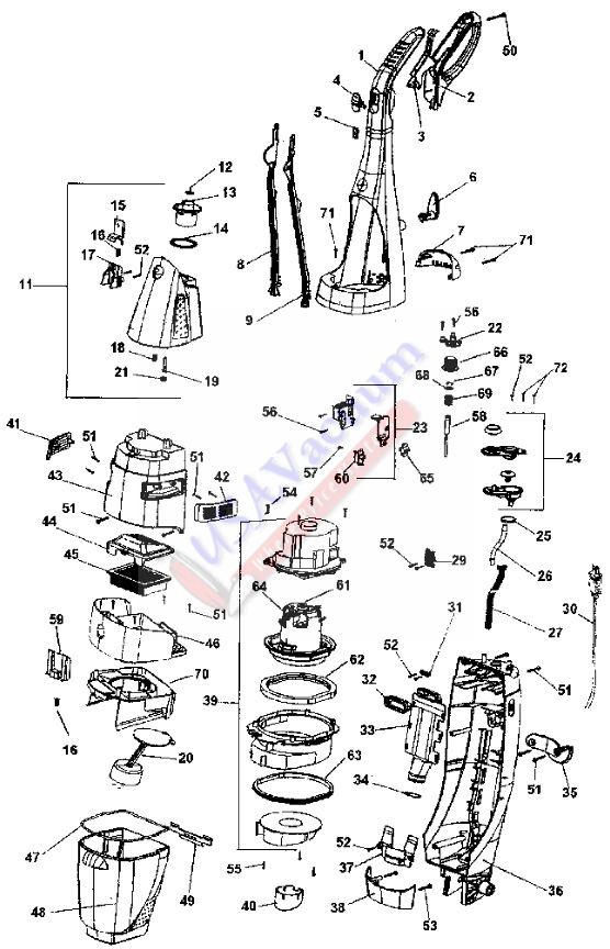 electrolux canister vacuum wiring diagram electrolux range