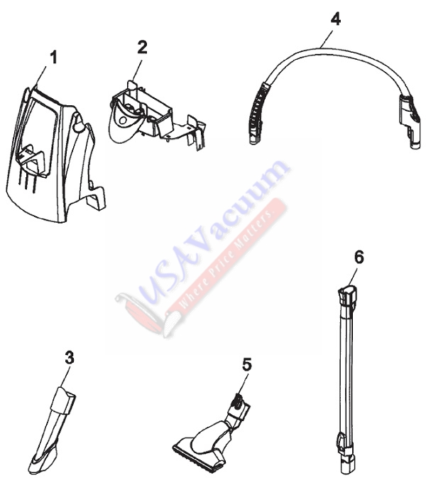 Hoover H3050 Floormate Spinscrub 800 With Tools Hose Caddy Embly Parts List Schematic